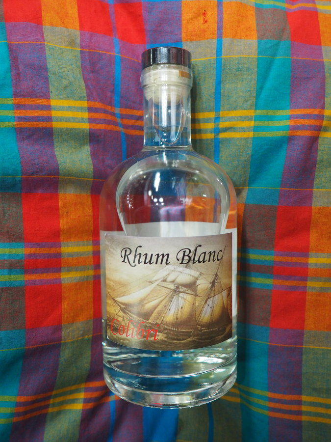 Rhum Blanc Colibri 40°