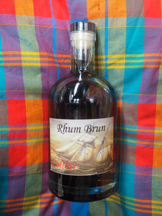"""Rhum Brun """"Colibri"""" 40°"""