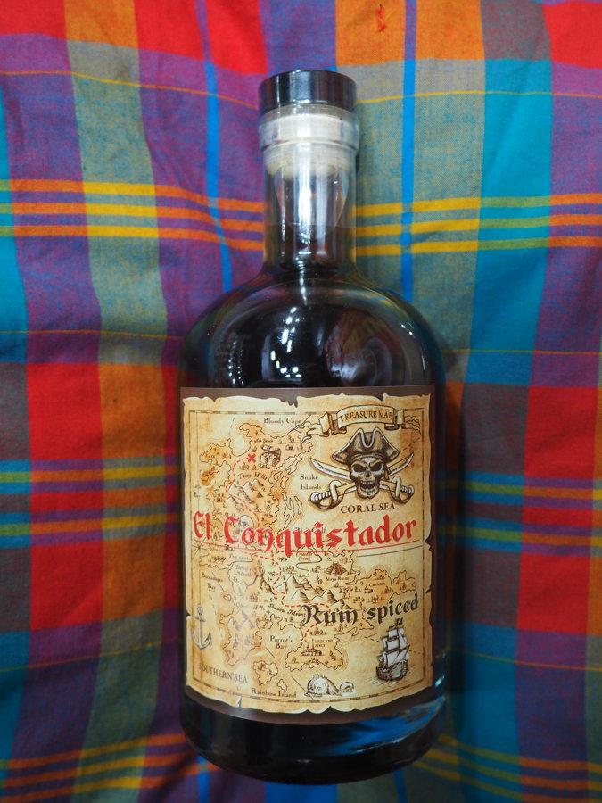 Rhum Spiced El Conquistador 40° - 70cl